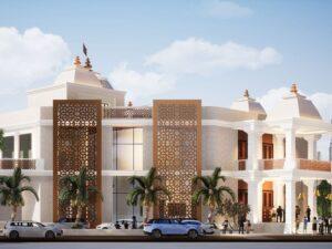 Temple in Dubai