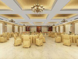 Hindu Temple hall in Dubai