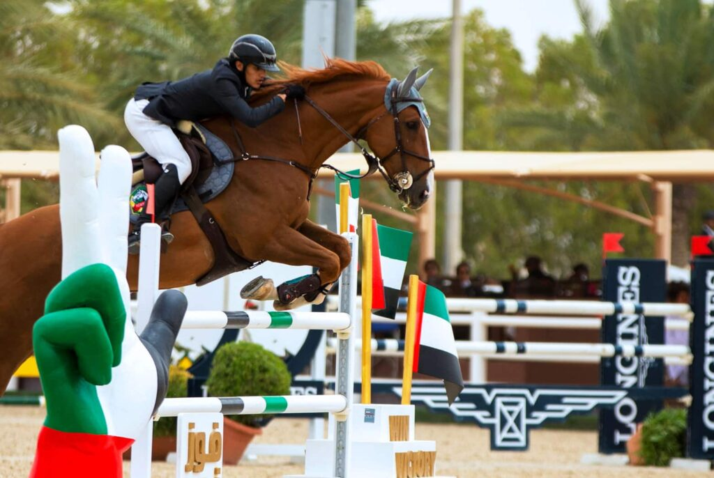 EEC COMPETITION LEAGUE AT THE EMIRATES EQUESTRIAN CENTRE